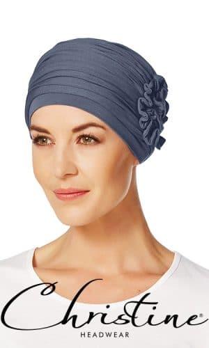 Lotus Turban Blue
