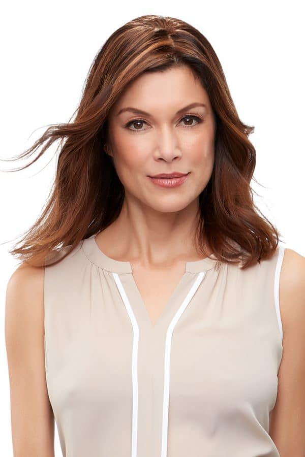 easipart french remy human hair 12 inch topper