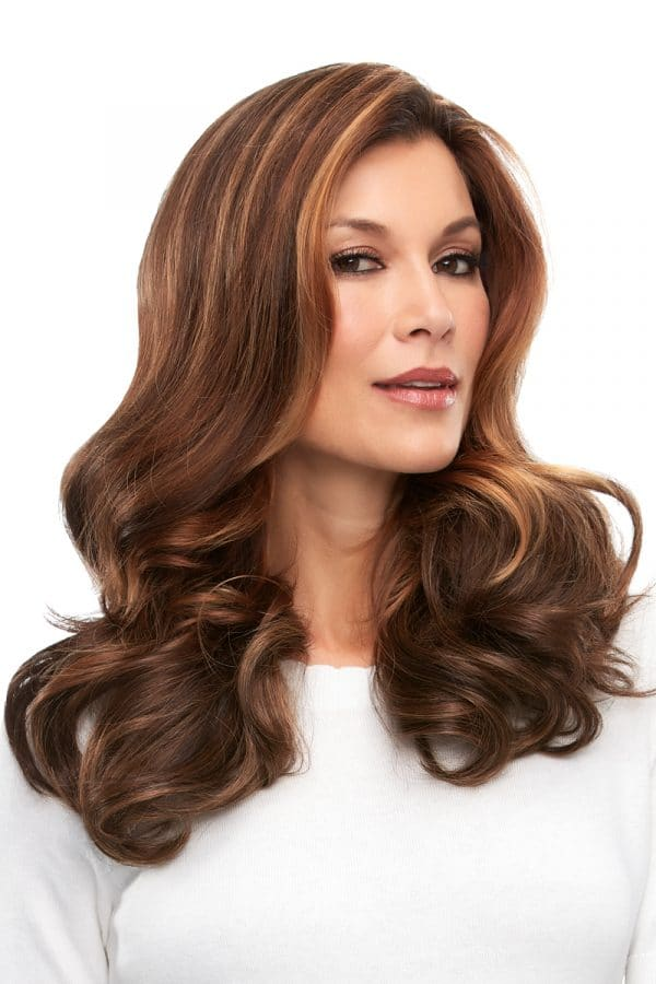 easipart french remy human hair 18 inch topper