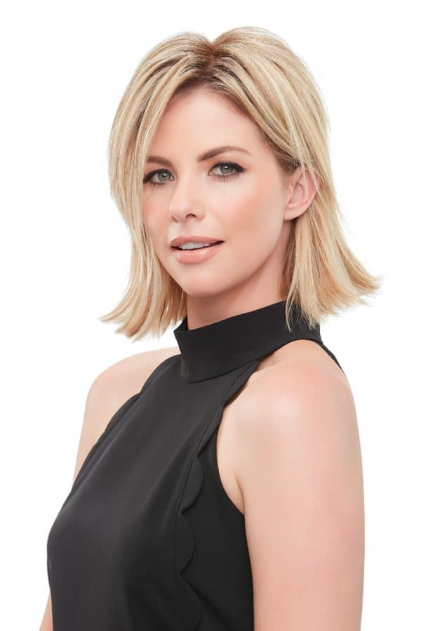 easipart XL remy human hair topper 8 inch