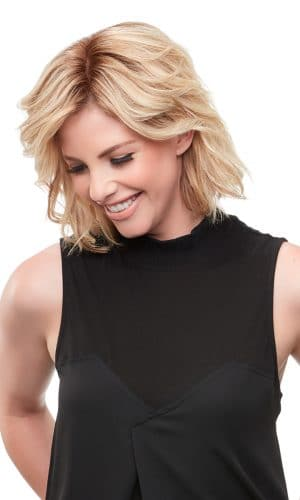 easipart XL frnch remy human hair 8 inch topper