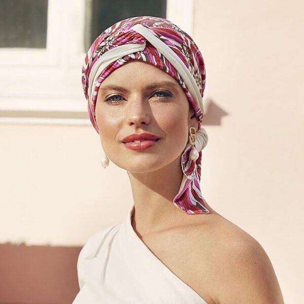 Beatrice Turban Indian Summer by Christine Headwear