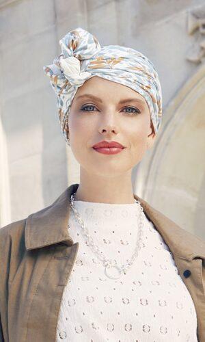 Beatrice_IkatBlues_Christine headwear