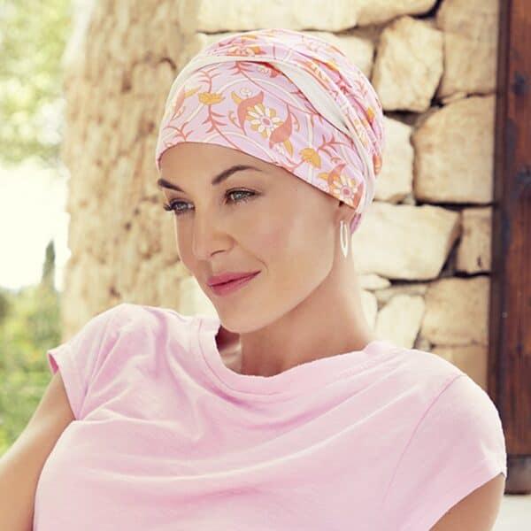 Shakti Turban - Blazing Flowers Christin Headwear